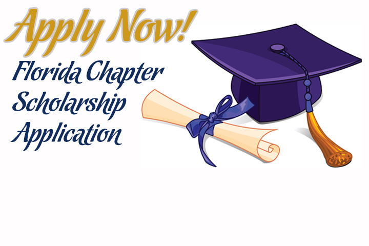 Apply now to receive a 2018 Florida Chapter or Branch Scholarship!