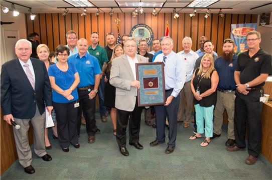 Coral Springs Public Works Department has become the latest Florida agency to become Accredited by the American Public Works Association!