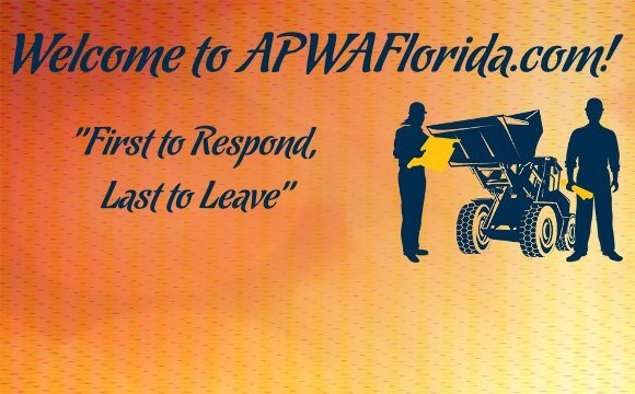 Welcome to the APWA Florida Chapter's official website!